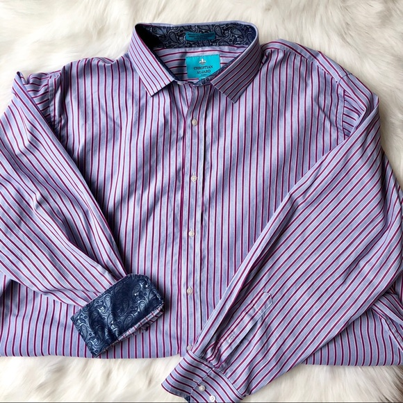 c1f821b1073 Christian Aujard Other - Men s Button Down Dress Shirt Big   Tall